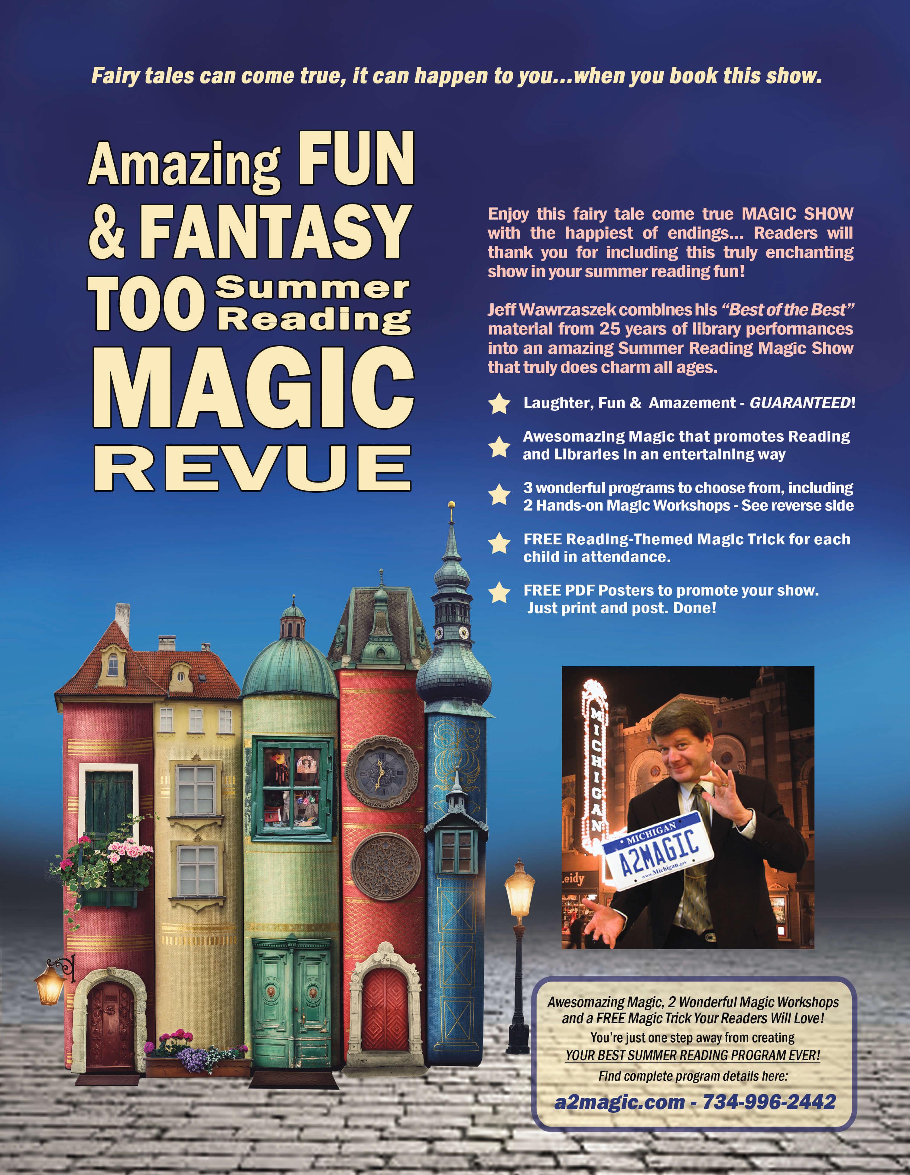Magician Michigan Library School Magician For Michigan