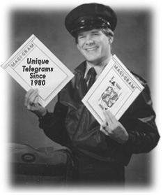 Magician, Jeff Wawrzaszek presents amazing Magical Telegrams.