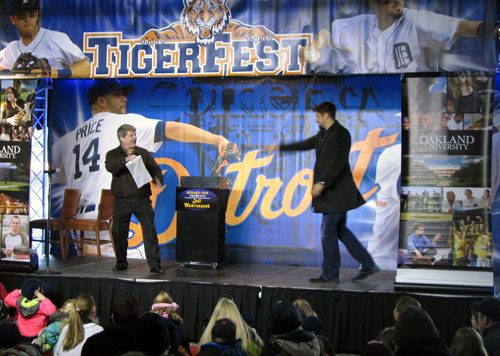 A2 Magic performance at Tiger Fest with Nick Castellanos